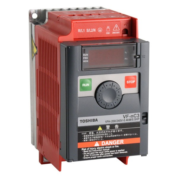 Toshiba VF-nC3S-2002PL frekvenciaváltó